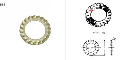 แหวนจักรถี่นอก EOW
