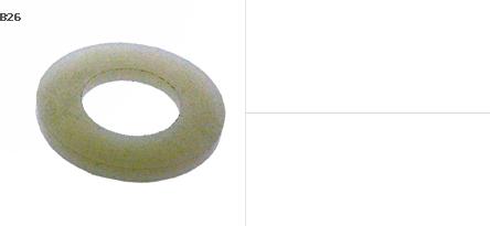แหวนอีแปะ พลาสติก P.V.C