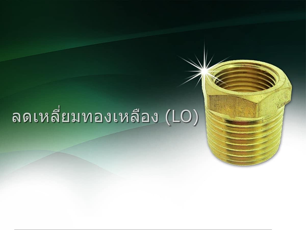 ลดเหลี่ยมทองเหลือง (LO)