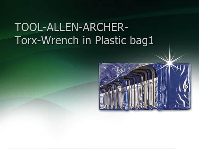 TOOL-ALLEN-ARCHER-Torx-Wrench in Plastic bag1